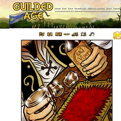 Guilded Age - Fantasy Comic every Monday, Wednesday and Friday.