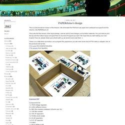 Guilherme Martins : PAPERduino's design