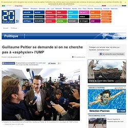 Guillaume Peltier se demande si on ne cherche pas à «asphyxier» l'UMP