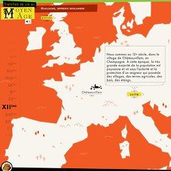 Guillaume, apprenti boulanger - «Tranches de vie au Moyen Âge» - Jeux éducatifs et interactifs pour web et tablettes – Cité des sciences et de l'industrie
