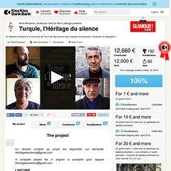 Turquie, l'Héritage du silence présenté par Anna Benjamin, Guillaume Clere et Avril Ladauge
