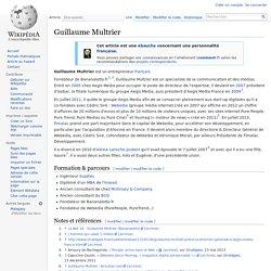 Guillaume Multrier co-fondateur