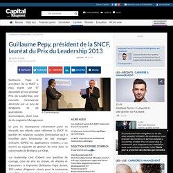 Guillaume Pepy, président de la SNCF, lauréat du Prix du Leadership 2013