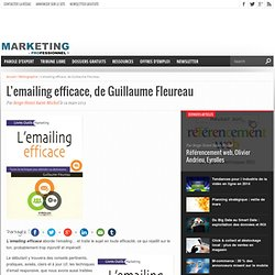 L'emailing efficace, de Guillaume Fleureau
