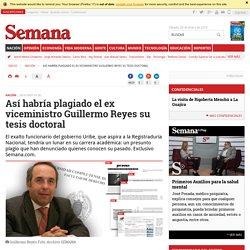 Semana - jurista colombiano habría plagiado su tesis doctoral en España