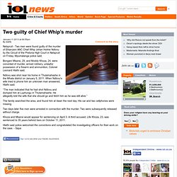 two-guilty-of-chief-whip-s-murder-1.1450373#.URENcKEy9Gw