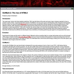 GUIMark 2: The rise of HTML5 « Craftymind