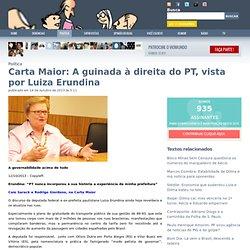 Carta Maior: A guinada à direita do PT, vista por Luiza Erundina