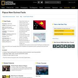 Papua New Guinea Facts, Papua New Guinea Flag