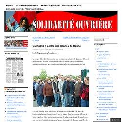 110517_Guingamp : Colère des salariés de Daunat