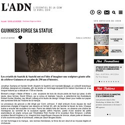 Guinness forge sa statue