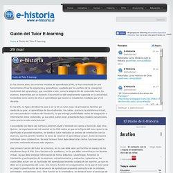 Guión del Tutor E-learning