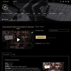 Vic Juris - Jazz Guitar Comping Lesson (1) - My Music Masterclass