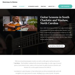 Top 5 Guitar Lessons Near me