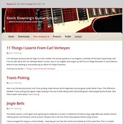 Kevin Downing's Guitar School - Part 2