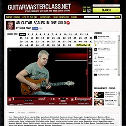 45 Guitar Scales In One Solo Lesson
