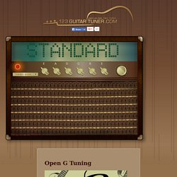 open g guitar tuning