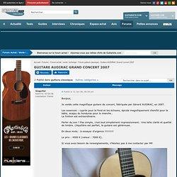 Gérard Audirac (guitares bizarres)