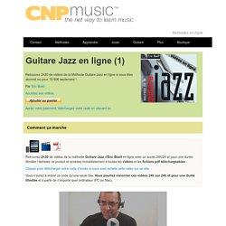 Guitare Jazz en ligne