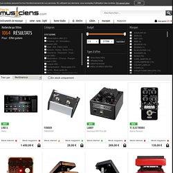 Achat effet guitare & basse : acheter en ligne votre effet pour guitare et basse - Pourlesmusiciens.com