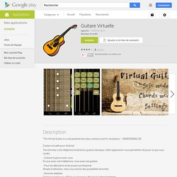 Guitare Virtuelle – Applications Android sur Google Play
