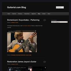 Guitarist.com Blog
