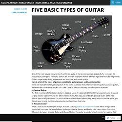Guitarras acusticas online