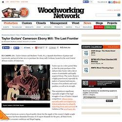 Taylor Guitars' Cameroon Ebony Mill: The Last Frontier