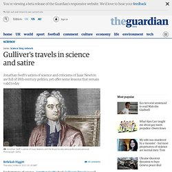 Gulliver's travels in science and satire