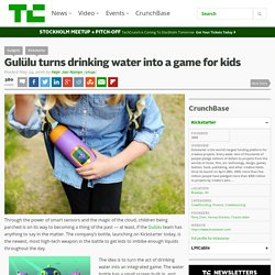 Gulülu turns drinking water into a game for kids