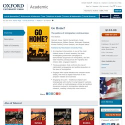 Go Home? - Hardcover - Hannah Jones; Yasmin Gunaratnam; Gargi Bhattacharyya; William Davies; Sukhwant Dhaliwal; Kirsten Forkert; Emma Jackson; Roiyah Saltus