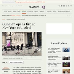 Gunman opens fire at New York cathedral