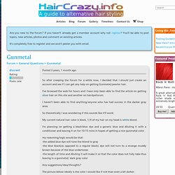 Gunmetal - Forums - HairCrazy.info