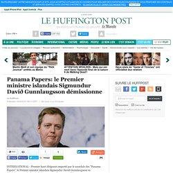 Panama Papers: le Premier ministre islandais Sigmundur Davíð Gunnlaugsson démissionne