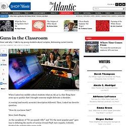 Guns in the Classroom - Lisa Rau Cannon