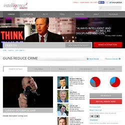 Guns Reduce Crime