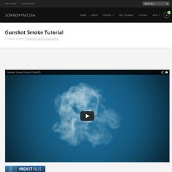 (max) Gunshot Smoke Tutorial @SOKRISPYMEDIA #scenefile