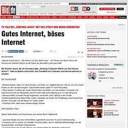"""Daddel-Talk bei """"Günther Jauch"""": Prügel für den Internet-Hasser Manfred Spitzer - Politik Inland"""
