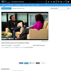 Oprah Winfrey interviews Gurbaksh Chahal