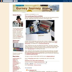 Gurney Journey: Tiny Landscape Nuts and Bolts