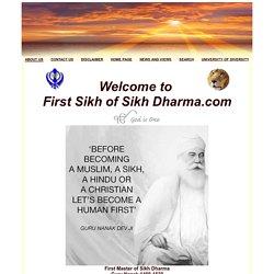 Guru Nanak...First Sikh of Sikh Dharma