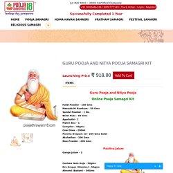 Guru Pooja and Nitya Pooja SAMAGRI Kit