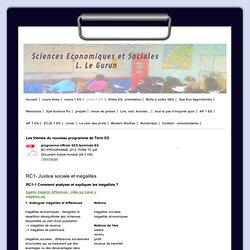 cours T ES - gurunes, sciences eco et sociales au lycée