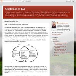 Gustafssons SO: Stöd i undervisningen del 2: Stödmallar