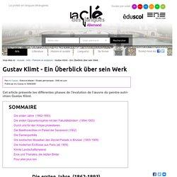 Gustav Klimt - Ein Überblick über sein Werk — Allemand