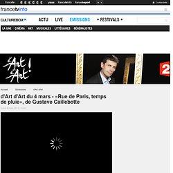 """G. Caillebotte """"Rue de Paris, temps de pluie"""" - vidéo d'Art d'Art -"""