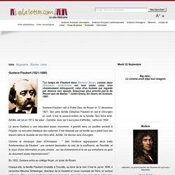 Site internet sur Flaubert