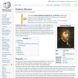 Gustave Moreau : précurseur du symbolisme