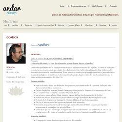 Taller de comics con Gustavo Aguilera, en Andar Cursos, Montevideo