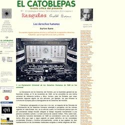 Gustavo Bueno, Los derechos humanos, El Catoblepas 154:2, 2014